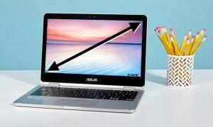 ukuran layar laptop gaming