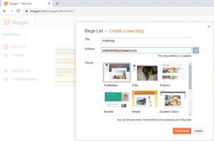 Cara Membuat Blog di Blogger 8