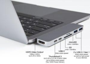 Port laptop gaming