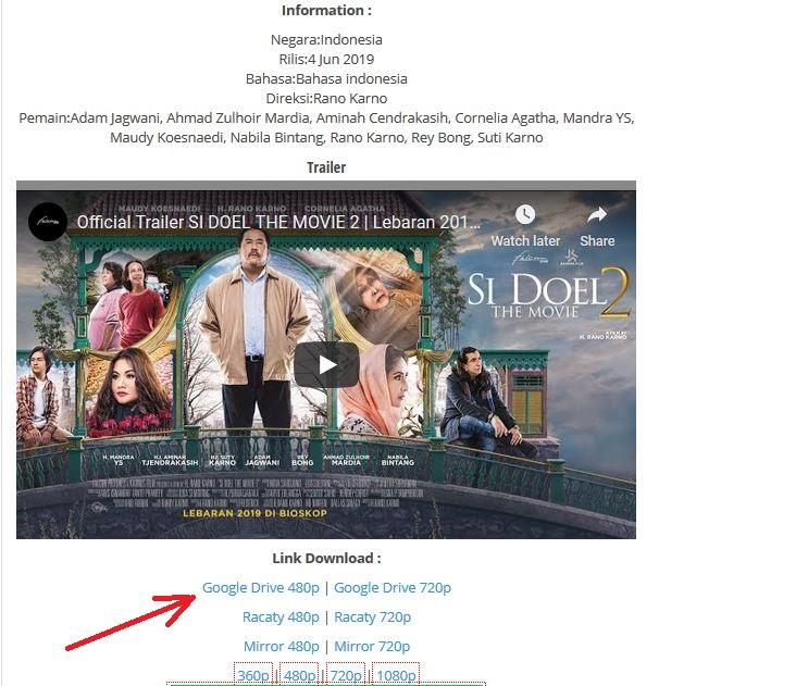 Cara Download Film di Laptop dan Android - Deteknoway