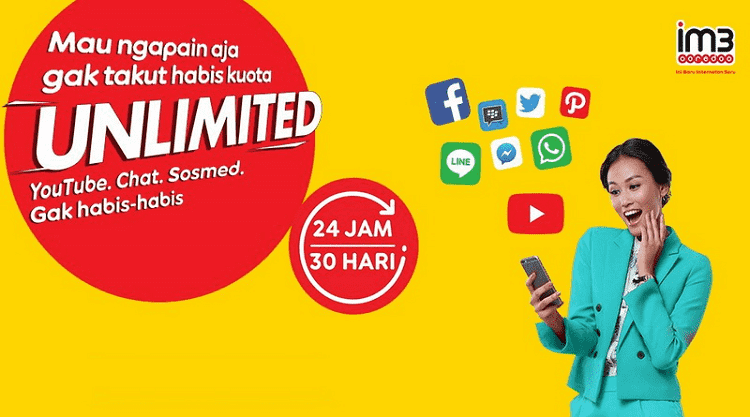 Cara Mengatasi FUP Indosat Unlimited YouTube