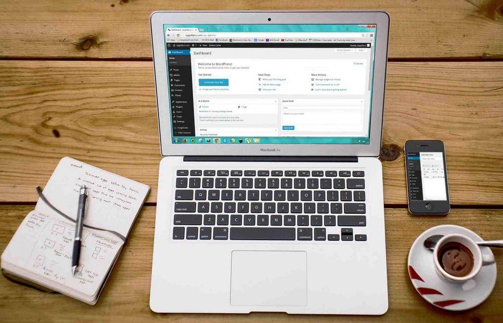 membuat blog wordpress
