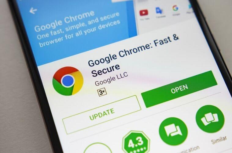 Update Browser Google Chrome