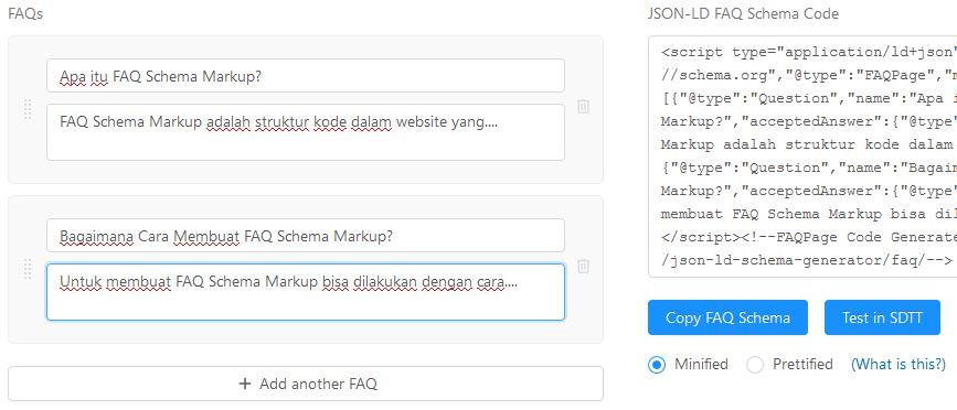 Cara Memasang FAQ Schema Markup Secara Manual 2