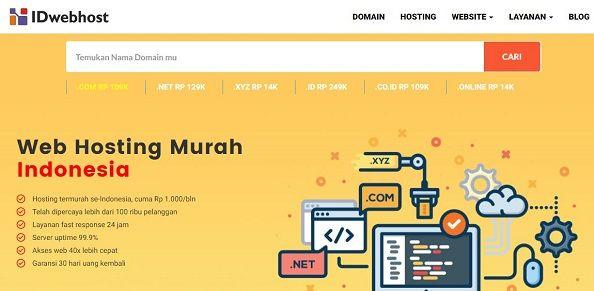 Hosting terbaik di Indonesia #5