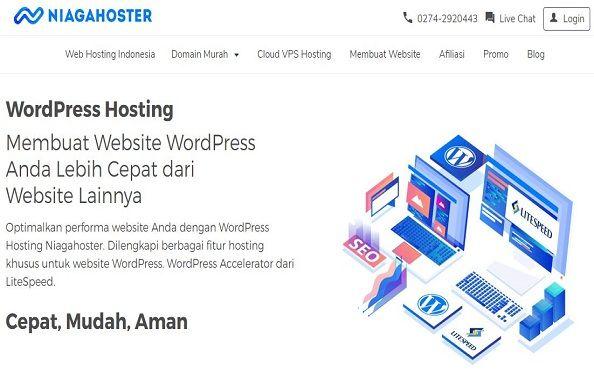 hosting terbaik untuk wordpress #1