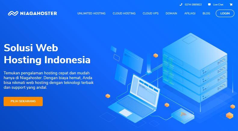 Hosting terbaik di Indonesia #1
