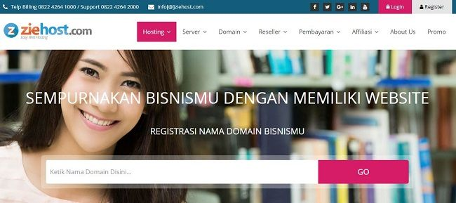 Hosting terbaik di Indonesia #7