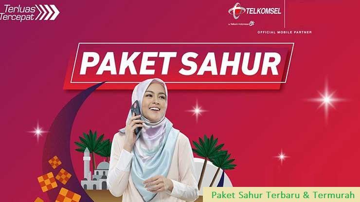 Cara Daftar Paket Sahur Telkomsel