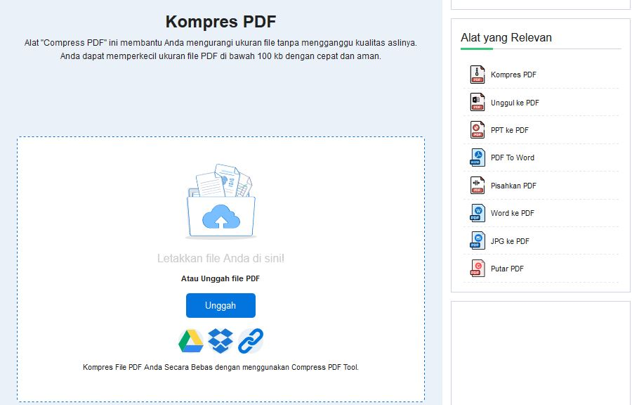 OCR, Kompres PDF, Konversikan ke PDF - Online Gratis